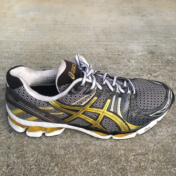 separation shoes 5f31d 66d95 Asics Shoes - ASICS GEL KAYANO 17 Top Duo Max Gray Gold run shoe